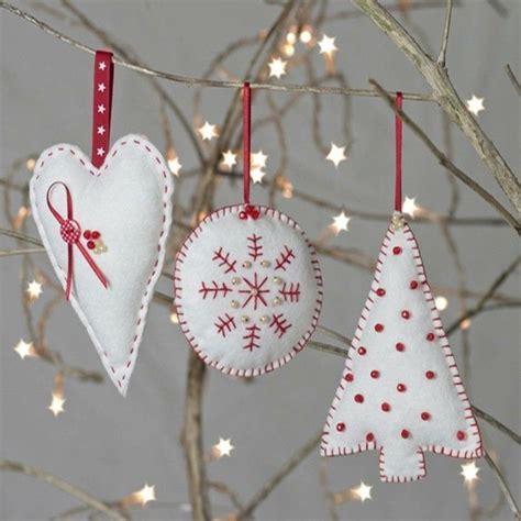 Weihnachtsdeko Fenster Nähen by Weihnachtsdeko N 228 Hen 40 Niedliche Bastelideen Zum