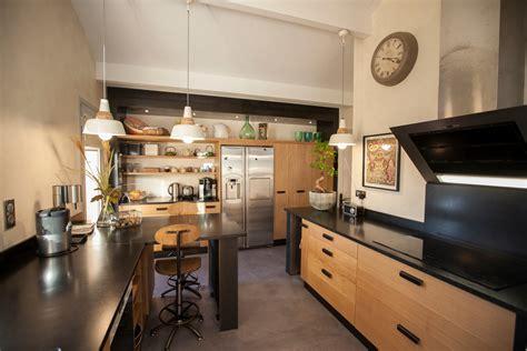 cuisine style atelier industriel cuisine joyce
