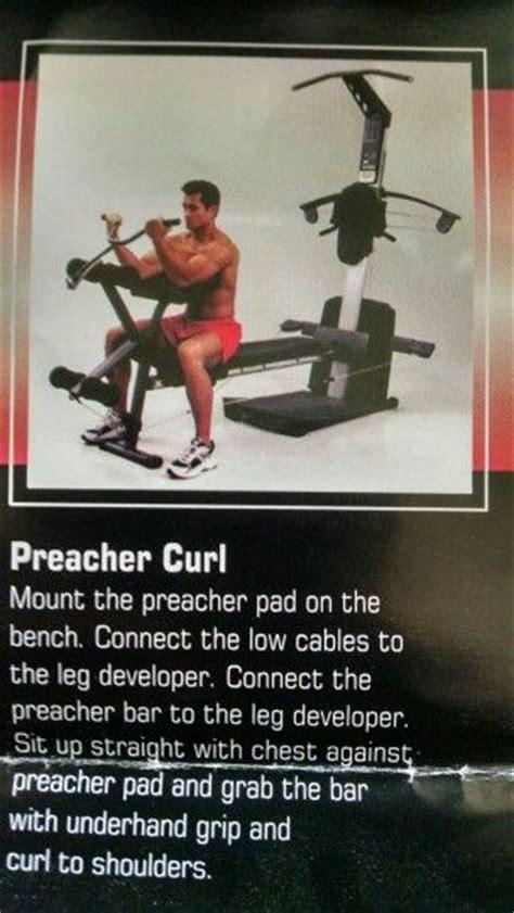 preacher curl workout chart arm workout