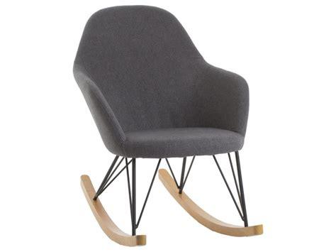fauteuil à bascule scandinave fauteuil 224 bascule scandinave erwan gris vente de