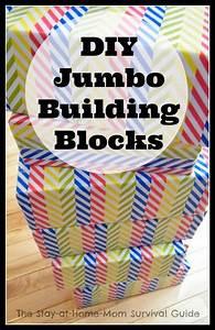 Diy Jumbo Building Blocks