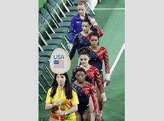 FEMAIL round up best and worst gymnastic leotards at Rio