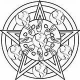 Pentagram Designlooter sketch template