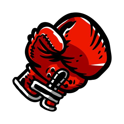 boxing gloves punching   vectors clipart