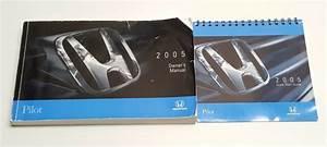 2005 Honda Pilot Owners Manual Operater U0026 39 S User Guide Book