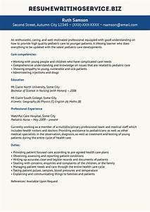 sample resume for pediatric nurse resume ideas With cv writing service