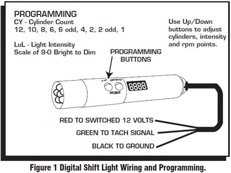 Medallion Tachometer Wiring Diagram by How To Install An Msd Programmable Digital Shift Light On