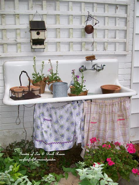 potting bench with sink junk 186 potting benches funky junk