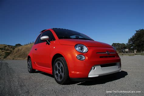 Fiat Electric by Review 2013 Fiat 500e Electric The About Cars