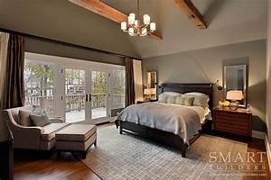 Contemporary Craftsman Style Custom Home • Master Bedroom ...