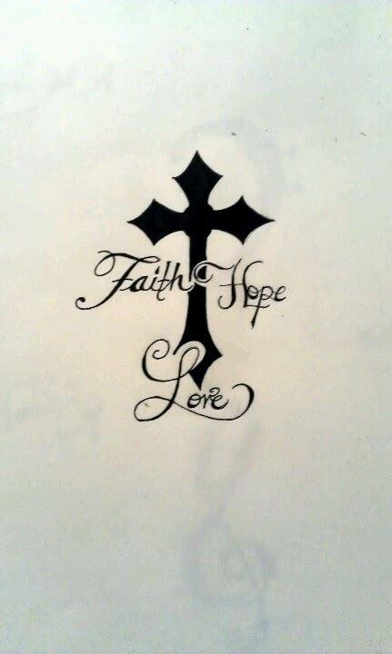 ideas  faith hope tattoos  pinterest faith