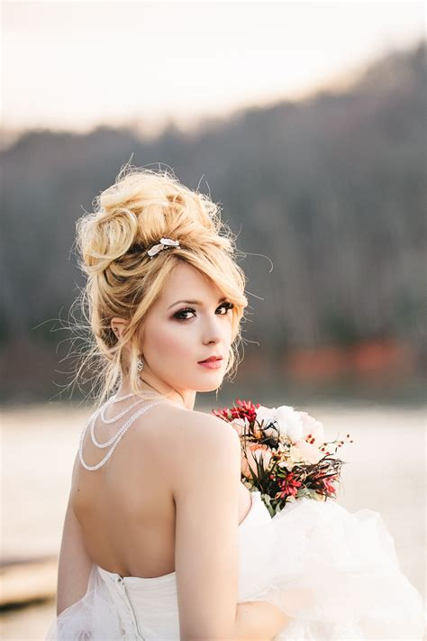 Drop Dead Gorgeous Curly Wedding Updos Bridal updo