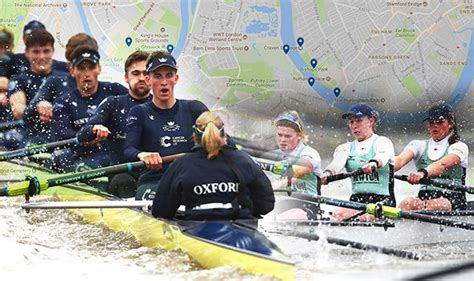 Watch The Boat Race by Boat Race 2018 Where To Watch Oxford Cambridge Rowing