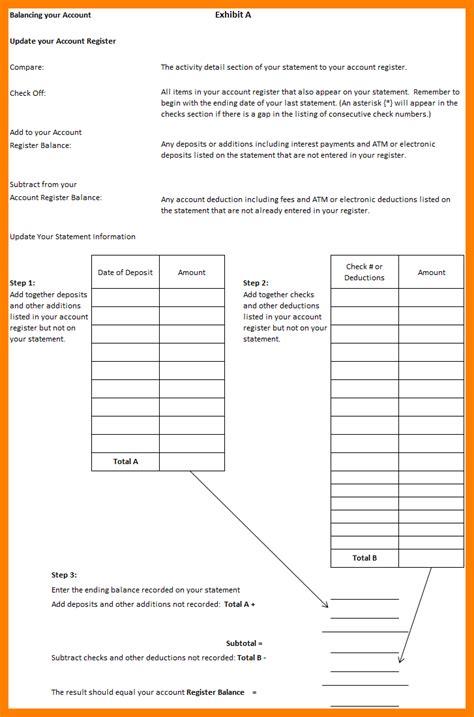 uncategorized balancing a checkbook worksheet