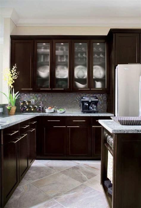 coffee color kitchen cabinets kitchen cabinet espresso color 5522