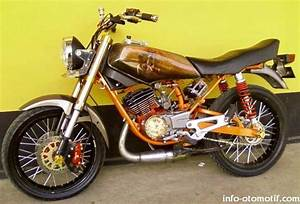 Modif Yamaha Rx King  The Real King