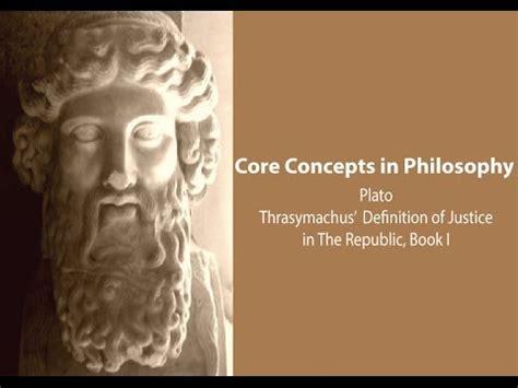 philosophy concepts plato thrasymachus definition