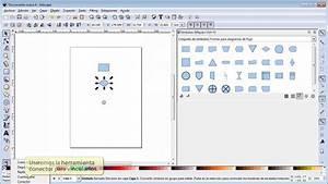22 1 Tutorial De Inkscape S U00edmbolos  Diagramas De Flujo Y