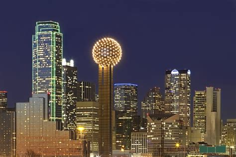 Reunion Tower Observation Deck by Design In Dallas Holistic House