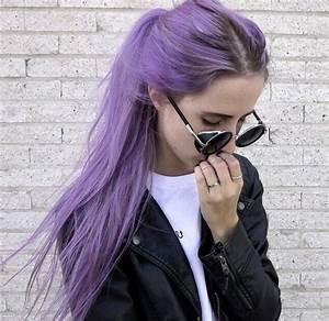 Pastell Lila Haare : lila haare haare in knallfarben sind in frisurentrends mode zenideen ~ Frokenaadalensverden.com Haus und Dekorationen