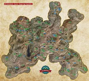 M3 The Hinterlands Quest Map - Dragon Age: Inquisition ...