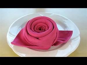 Rose Aus Serviette Drehen : servietten falten rose bl te blume einfache diy tischdeko basteln geburtstag hochzeit ~ Frokenaadalensverden.com Haus und Dekorationen