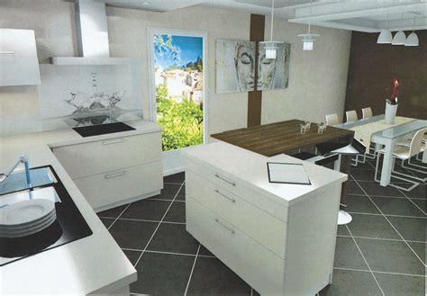 cuisine ikea gris brillant chambre mur et noir