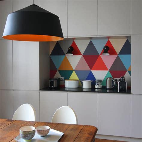papier peint pour cuisine cuisine où poser papier peint pour un maximum d