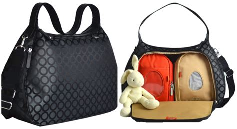 designer bags and diapers pacapod a stylish handbag with a 3 in 1 bag system