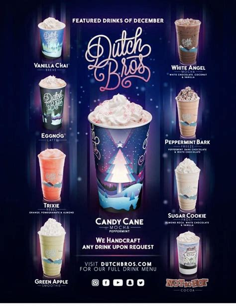 Hence, the dutch bros coffee shop chain has designed an interesting menu which lets the individuals enjoy a great drink. #blackrockcoffee | Dutch bros drinks, Dutch bros secret menu, Dutch bros
