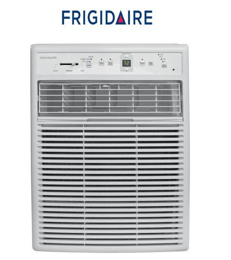 frakt frigidaire btu window vertical casement air conditioner