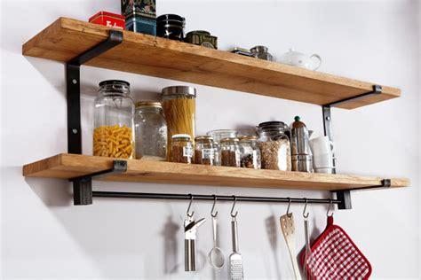 etagere bois cuisine