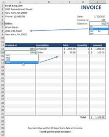 Invoice Templates Excel Pics Photos Excel Invoice Template 5 Excel Invoice Template 7