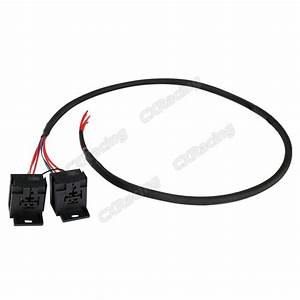 2x 30a 12v Dc Relay Wire Harness 3ft Long For Ecu Lights