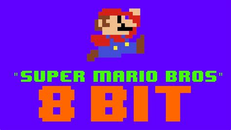 Super Mario Bros Theme Song 8 Bit Remix Cover Version