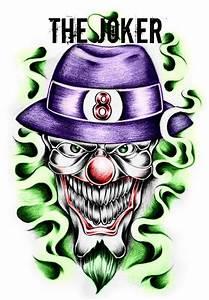 Images Of Gangster Joker Drawings Golfclub