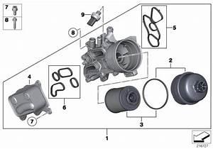 Mini Genuine Seal Gasket Set For Oil Filter Heat Exchanger