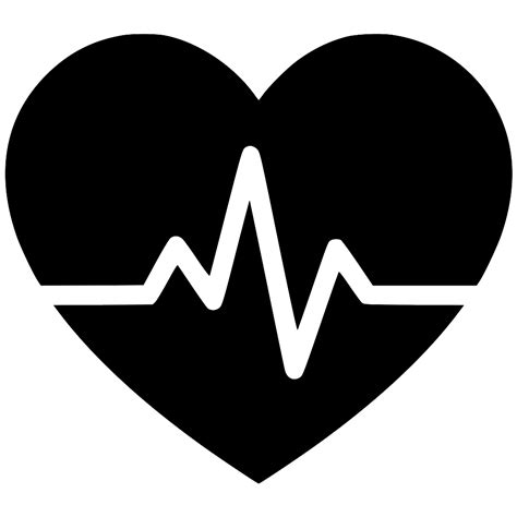 Heartbeat Svg Png Icon Free Download (#529413 ...