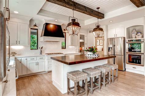 hgtv kitchen island ideas 5 laminates for a unique farmhouse kitchen