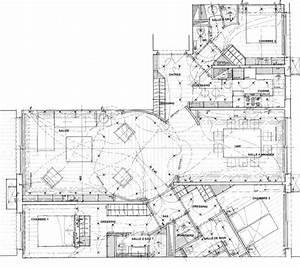 appartement de 120 m2 sur paris 75016 contemporary With plan appartement 150 m2