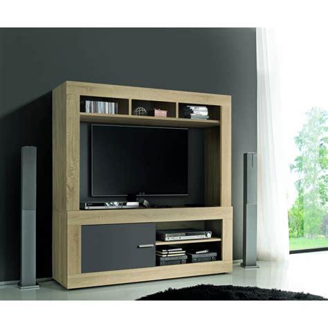 Banc Tv Gris by Banc Tv Contemporain Ch 234 Ne Sonoma Gris Opaque Constance