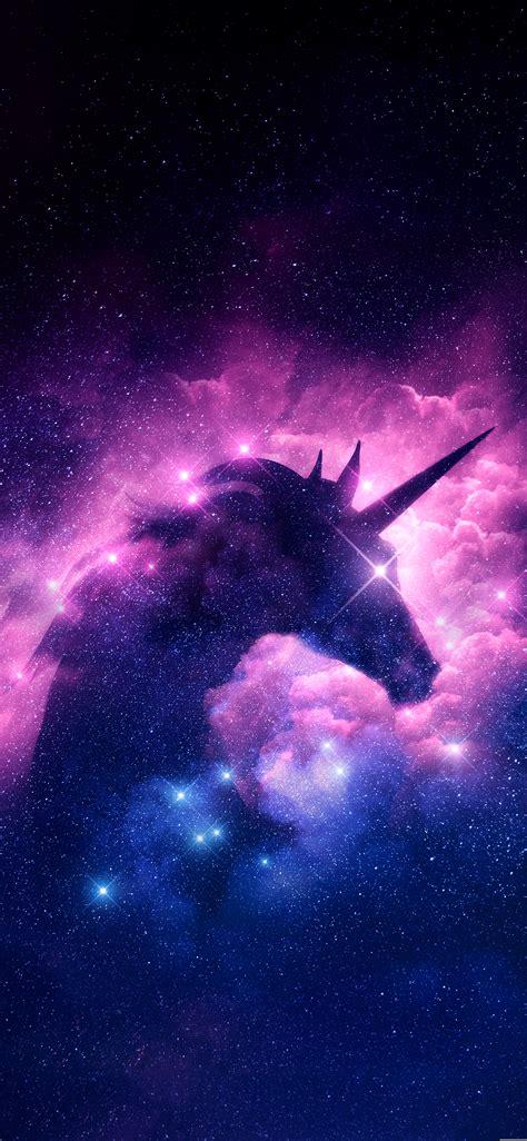 Unicorn Galaxy Iphone Wallpaper Wallpaper Di 2019