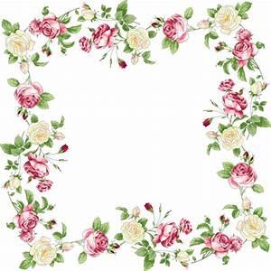floral border png - Pesquisa Google | Borders | Pinterest ...