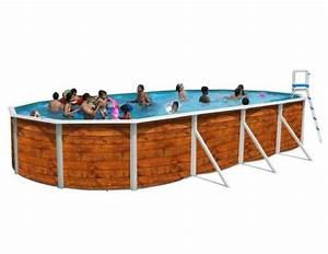 Dimension Piscine Hors Sol : piscine hors sol ovale etnica distripool ~ Melissatoandfro.com Idées de Décoration