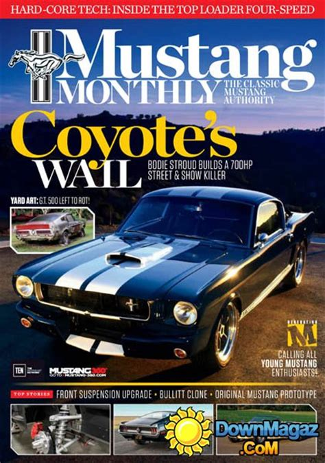 mustang monthly august    magazines