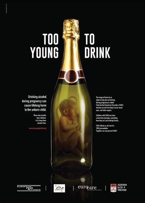 young  drink powerful fasd awareness campaign