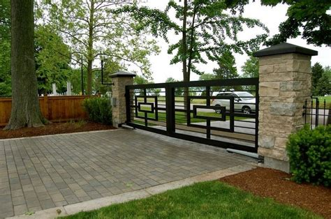 iron fence ideas decorating awesome terrace with modern iron fences design and white brick iron fences and
