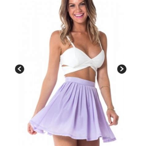 sabo skirt - UNAVAILABLE Lollipop skater skirt in lavender