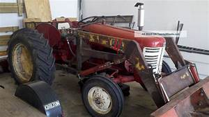 1957 Ih 350 Utility Tractor With Loader