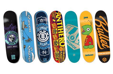 Choosing Your First Skateboard Deck  Sidewalk Basic
